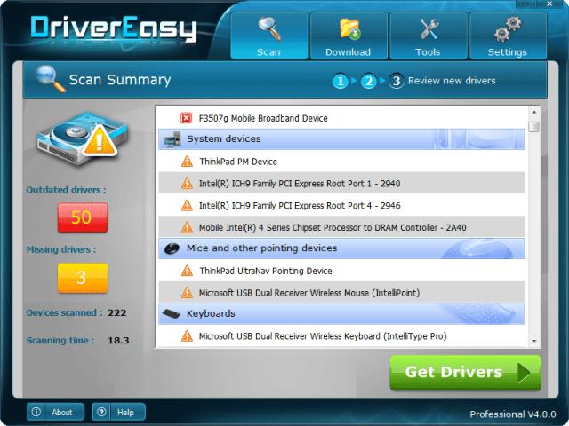 Driver-Easy-PRO Registration key