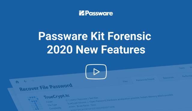 Passware kit forensic Registranion key