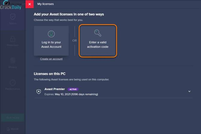 Avast Premier License File Screenshot 2