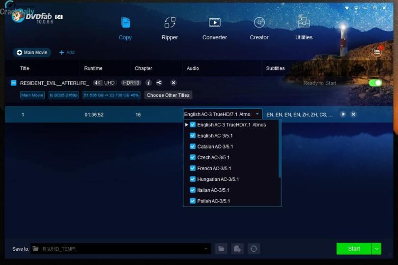 DVDFab Screenshot 1