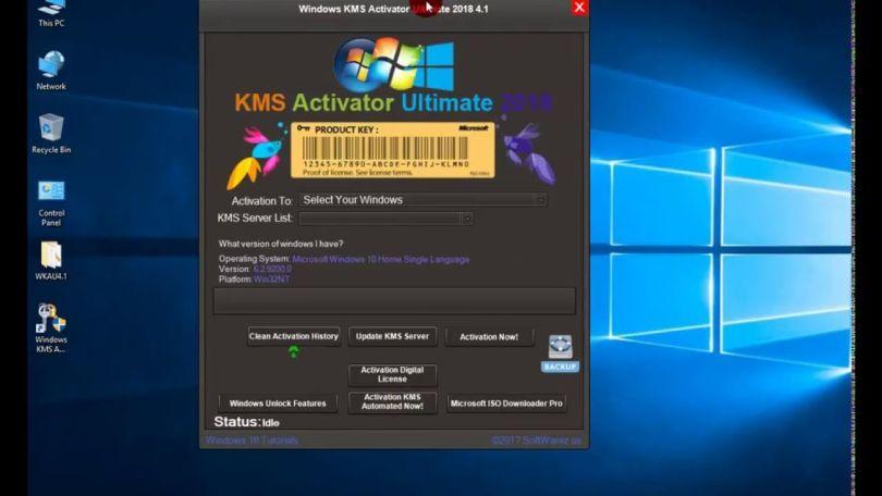 KMS Activator Windows Ultimate Screenshot 2