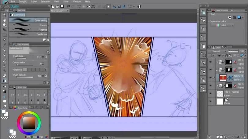 CLIP STUDIO PAINT EX Licensed Screenshot 2