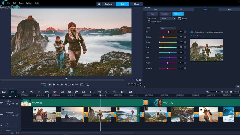 Corel VideoStudio Ultimate Screenshot