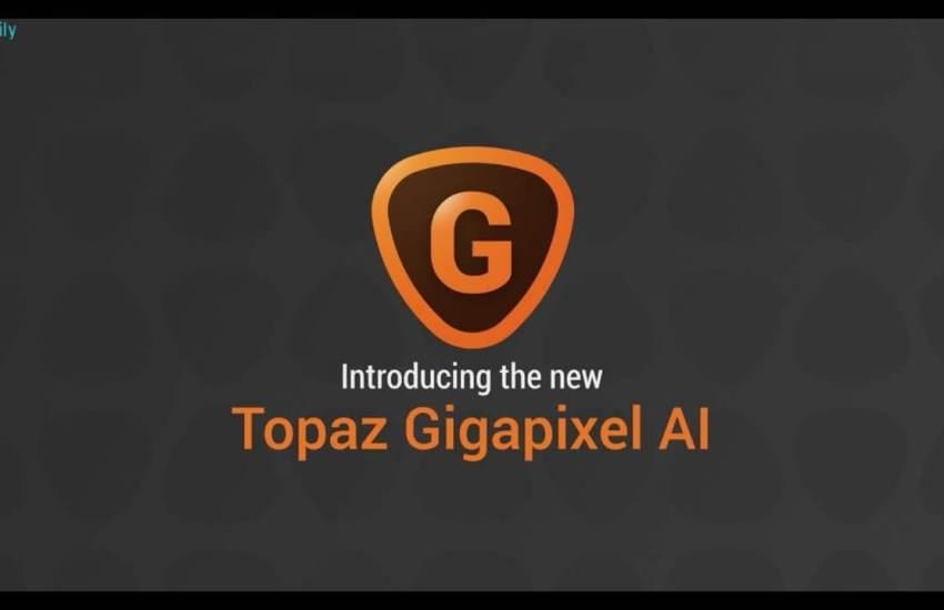 Topaz A.I. Gigapixel Cover