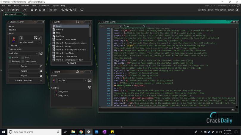 GameMaker Studio Ultimate Screenshot