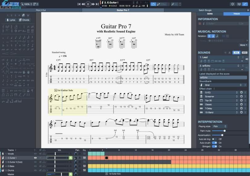 Guitar Pro Screenshot