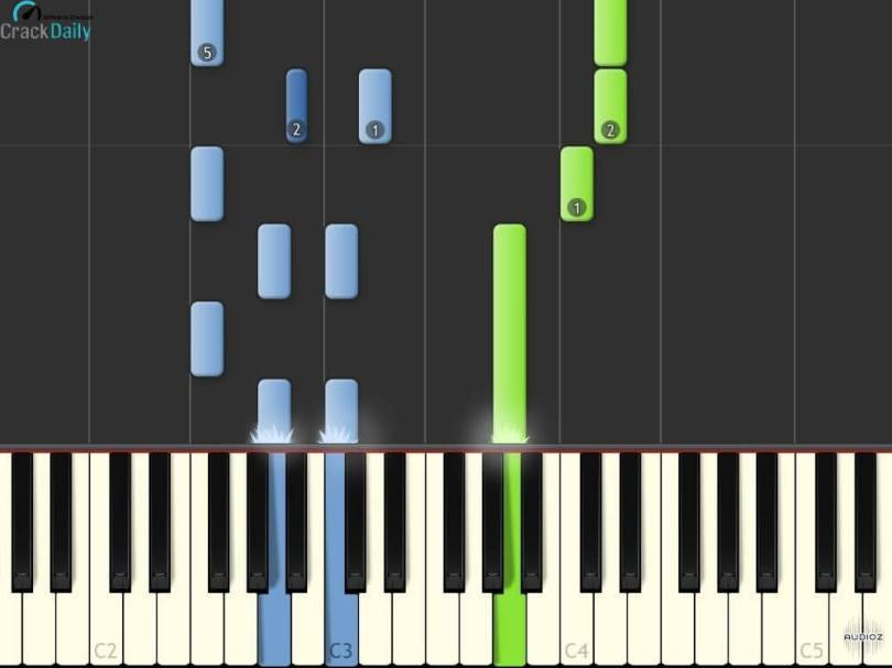Synthesia Piano Editor Screenshot