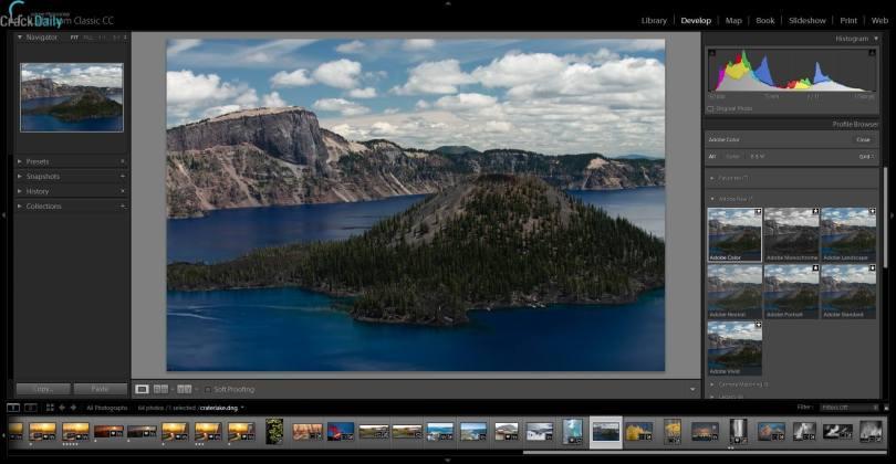 Adobe Photoshop Lightroom Classic CC Screenshot