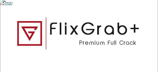 FlixGrab+ Premium Logo