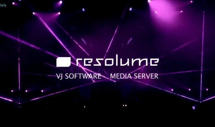 Resolume Arena Cover