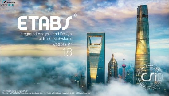 Etabs 2017 free. download full version with crack