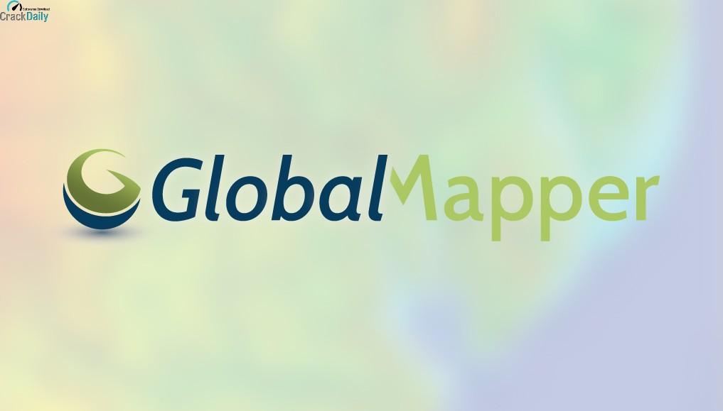 Global Mapper 22.1 Full Crack Keygen Download