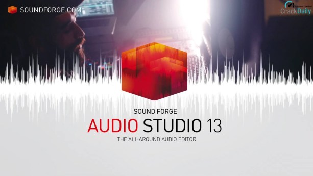 MAGIX SOUND FORGE Audio Studio Cover