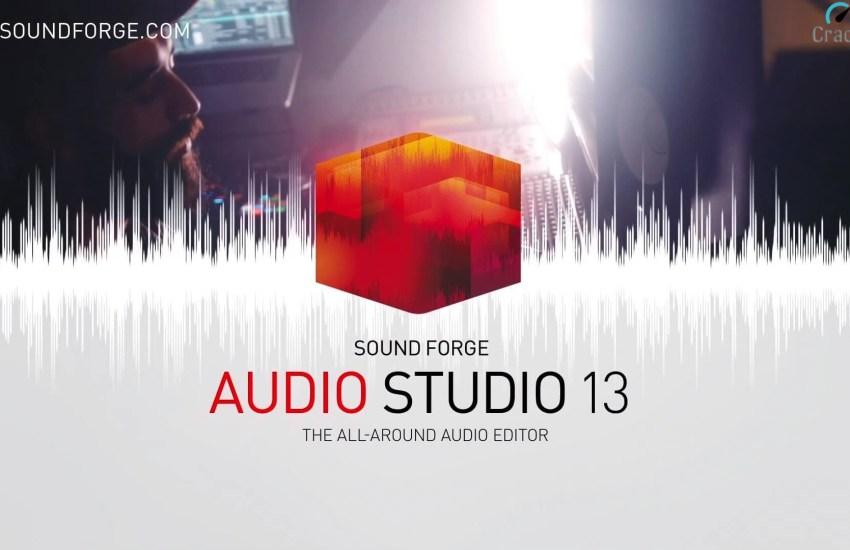 MAGIX SOUND FORGE Audio Studio Cover