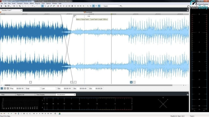 MAGIX SOUND FORGE Audio Studio Screenshot