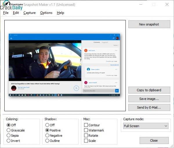 WinSnap Screenshot