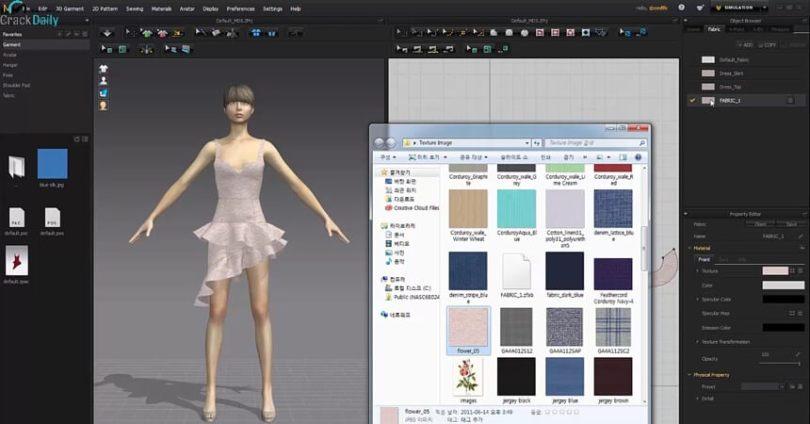 Marvelous Designer Enterprise Screenshot
