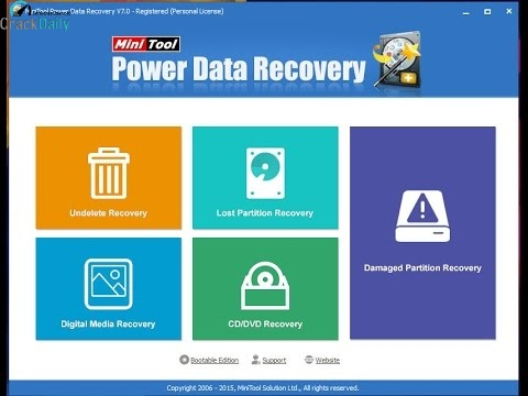MiniTool Power Data Recovery Cover