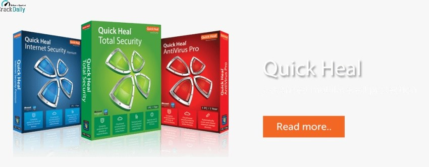 Quick Heal Antivirus Cover