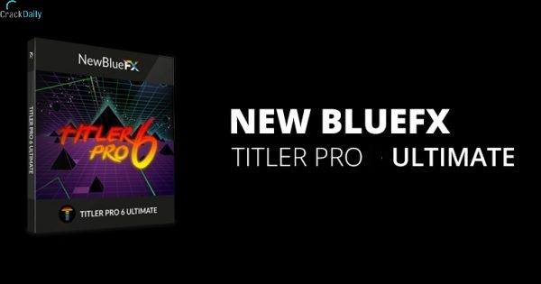 NewBlueFX Titler Pro Cover