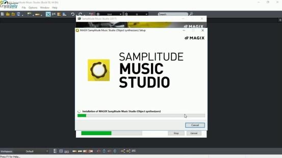 MAGIX Samplitude Music Studio Cover