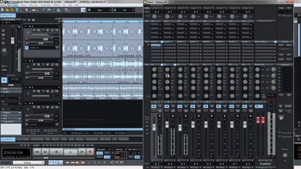 MAGIX Samplitude Music Studio Crack Download