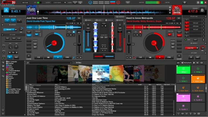 Virtual DJ Pro Infinity Full Key Crack Free Download