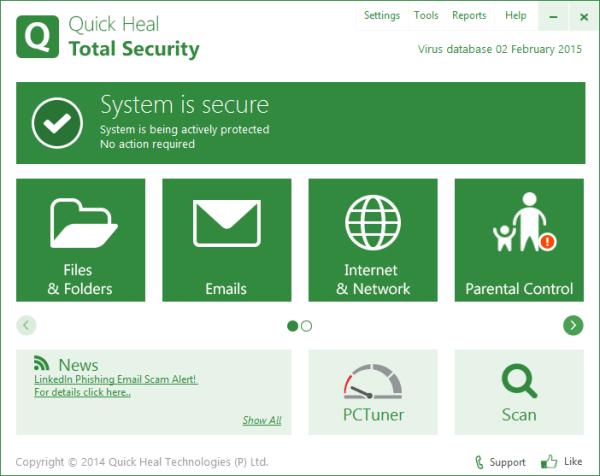 Quick Heal Total Security 2022 Crack