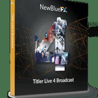 NewBlueFX Titler Live 4 Broadcast 4.1.210630 Crack Full Version
