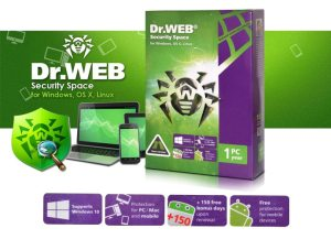 Dr.Web Security Space 12.0.2.6020 Crack + License Key 2020
