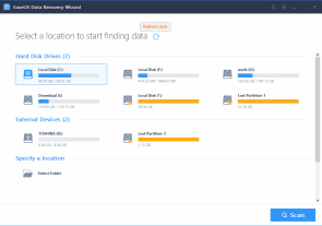 EaseUS Data Recovery 12.6 Crack & Serial Key Full Free Download