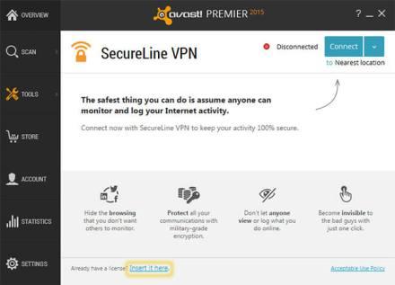 Avast Secureline VPN 2018 License File & Crack Full Free Download