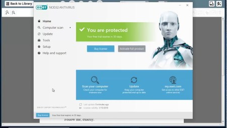 ESET NOD32 Antivirus 2019 Crack & License Key Full Free Download