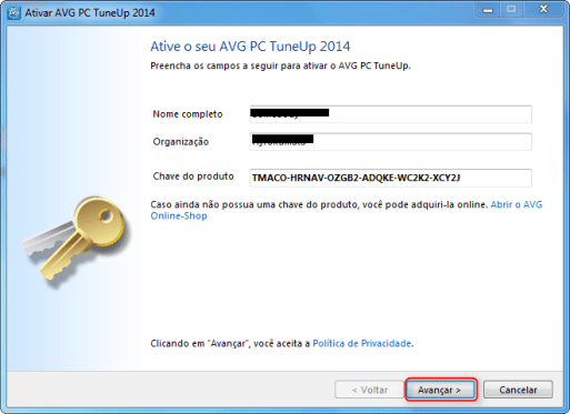 avg driver updater key generator 2019