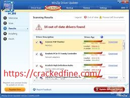 WinZip Driver Updater Crack 5.32.0.20 & License Key