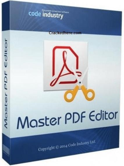 Master PDF Editor 5.6.20 Crack Full Activation Keygen Is Free Here