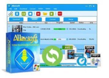 Allavsoft Video Downloader Converter 3.23.8.7948 Crack + Full latest Version