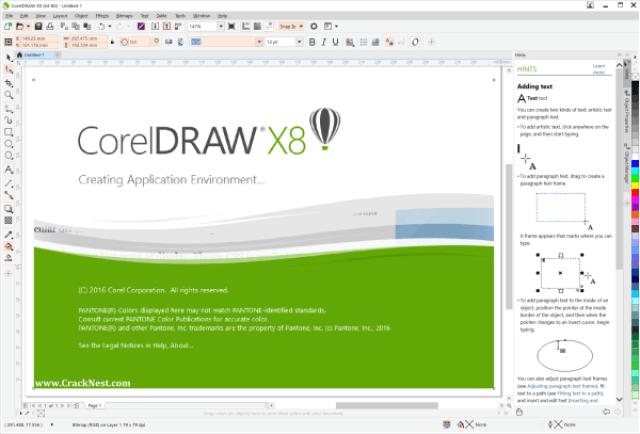 CorelDRAW X8 Crack Full + Xforce Keygen 2019 [Updated] | Cracked Ish
