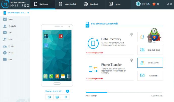 Wondershare MobileGo Key