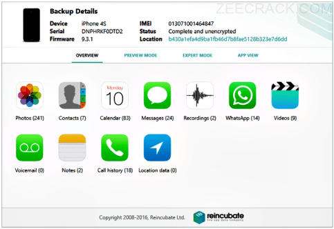iPhone Backup Extractor 7.6.7.1631 Crack Full Download 2019