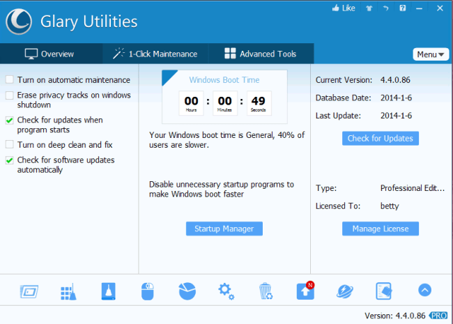 Glary Utilities Pro 5.123.0.148 Serial With Torrent Keys Free Download