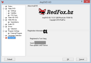 AnyDVD Crack HD Version With Patch Keys Free Download