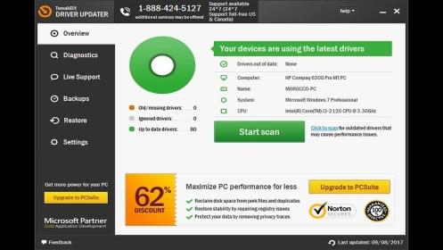 tweakbit driver updater free license key 2017