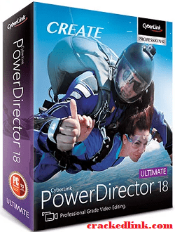 CyberLink PowerDirector 19 Crack Plus Keygen Latest Free Download