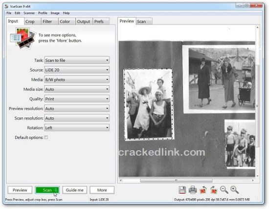 VueScan 9.7.47 Crack With Serial Number 2021 [Latest] Free Download