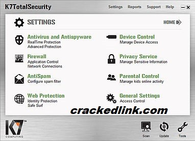 K7 TotalSecurity 2021 Crack With Activation Key Free Download
