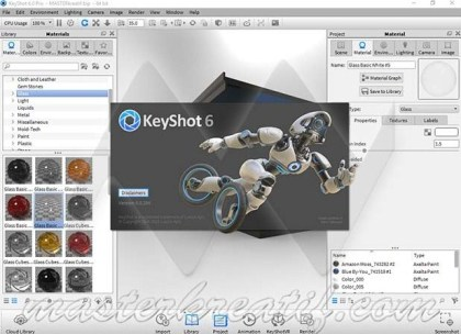 Luxion KeyShot Pro 8 2 80 + Crack Windows and Mac Free Download