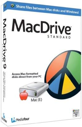 MacDrive 10.5 Crack