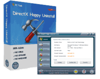 DirectX Happy Uninstall 6.95 Crack With Registration Code 2021