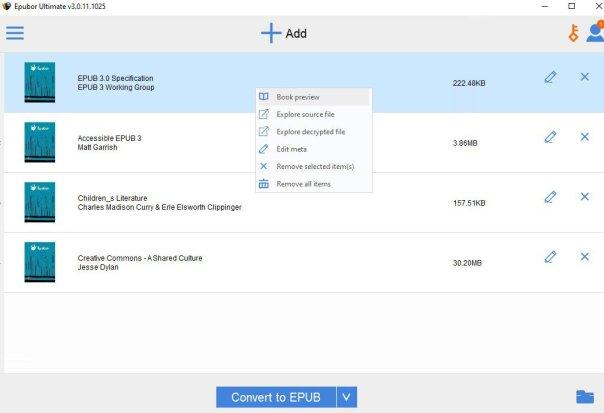 Epubor Ultimate eBook Converter 3.0.13.120 Crack With Serial Number